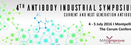 INOVOTION at the 4th Antibody Industrial Symposium 2016, Montpellier