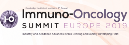 Immuno-Oncology Summit Europe 2019 - London