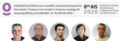 Inovotion's poster has been recognized as one of the 4 best posters at the AIS Congress 2020, 1st ex aequo in the industry category!!!