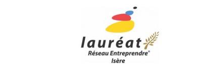 INOVOTION is laureate of ReseauEnreprendre Isère
