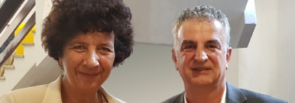 Jean Viallet, Inovotion's CEO and founder, invited to testify on technology transfer, interviewed by Frederique Vidal, French Minister for Advanced Education, Research and Innovation