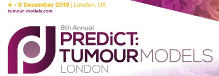 """INOVOTION speaking at the """"TUMOUR MODELS"""" conference in London Dec 4 - 6"""