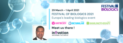 INOVOTION WILL ATTEND THE FESTIVAL OF BIOLOGICS SAN DIEGO 2021