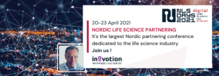 INOVOTION WILL ATTEND THE NORDIC LIFE SCIENCE DAYS