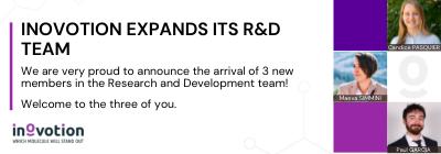 INOVOTION EXPANDS IT'S R&D TEAM