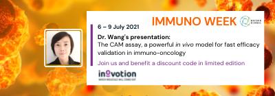 INOVOTION WILL ATTEND IMMUNO WEEK