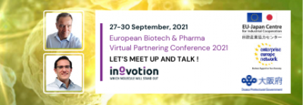 INOVOTION WILL ATTEND EUROPEAN BIOTECH & PHARMA VIRTUAL PARTNERING CONFERENCE 2021