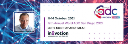 INOVOTION WILL ATTEND THE 12TH ANNUAL WORLD ADC SAN DIEGO 2021